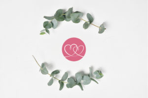 logo two hearts wedding planner